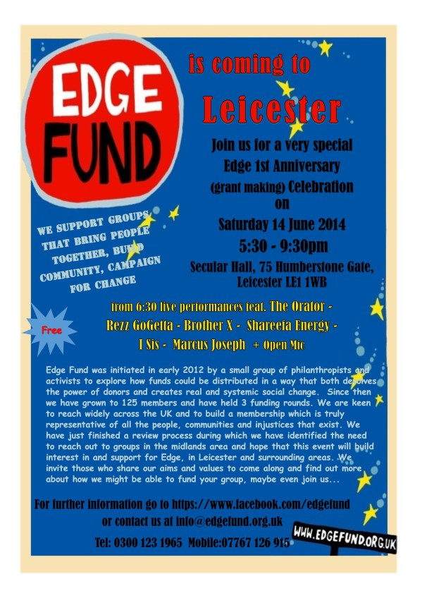 Edge Fund Leicester Event - June 2104(IA)